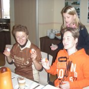 Weihnachtsfrühstück der Fußballfrauen am 16.12.2012