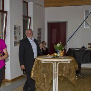 Feierliche Ausstellungseröffnung im Bürgerhaus