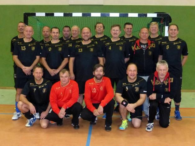Mannschaftsfoto - Männer Ü40 (Foto: J. Beier)