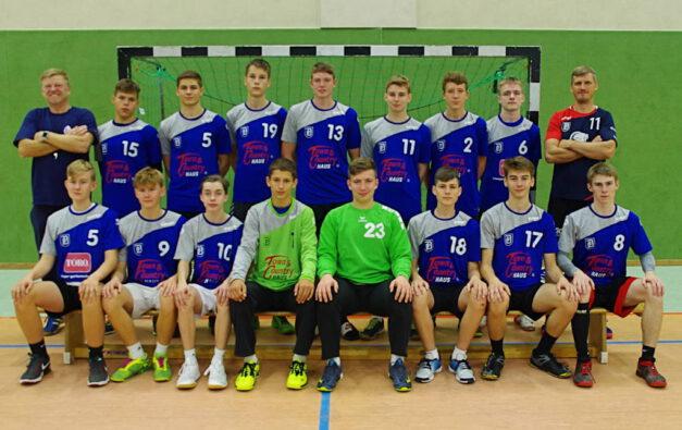 Mannschaftsbild B-Jugend Saison 2020/2021