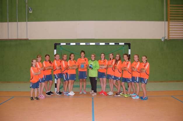 Mannschaftsbild C-Jugend Saison 2017/2018 (Foto: R.Eichner)