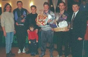 Siegerehrung 5.Tischtennis-Ball (Foto: A. Polster)