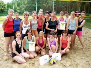 Teilnehmerinnen beim 9. Beachturnier (Foto: T. Grau)