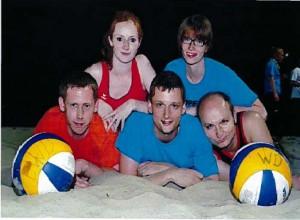 Mannschaft beim Beachmarathon(Foto: N. Neubauer)
