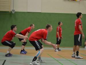 Mannschaft bereit sich auf die Annahme vor ( Foto: T.Taufmann)