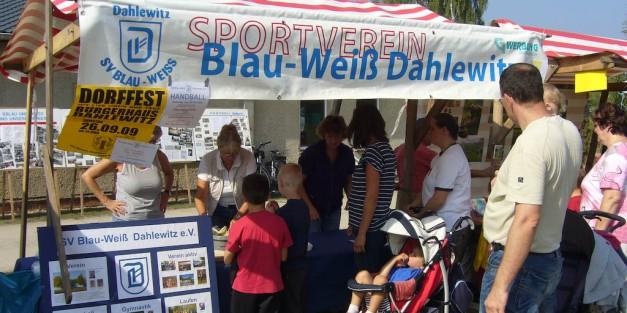 Zum Gemeindesportfest 2009 (Foto: H.-J. Schley)
