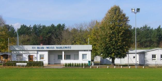 Der Sportplatz unseres Vereins in Dahlewitz (Foto: H.-J. Schley)